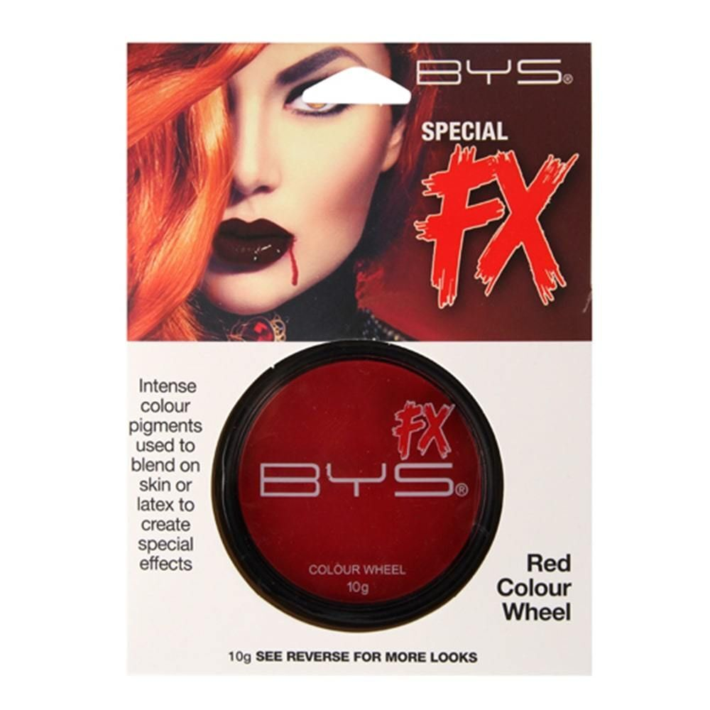 BYS Special FX Colour Wheel Red 10g