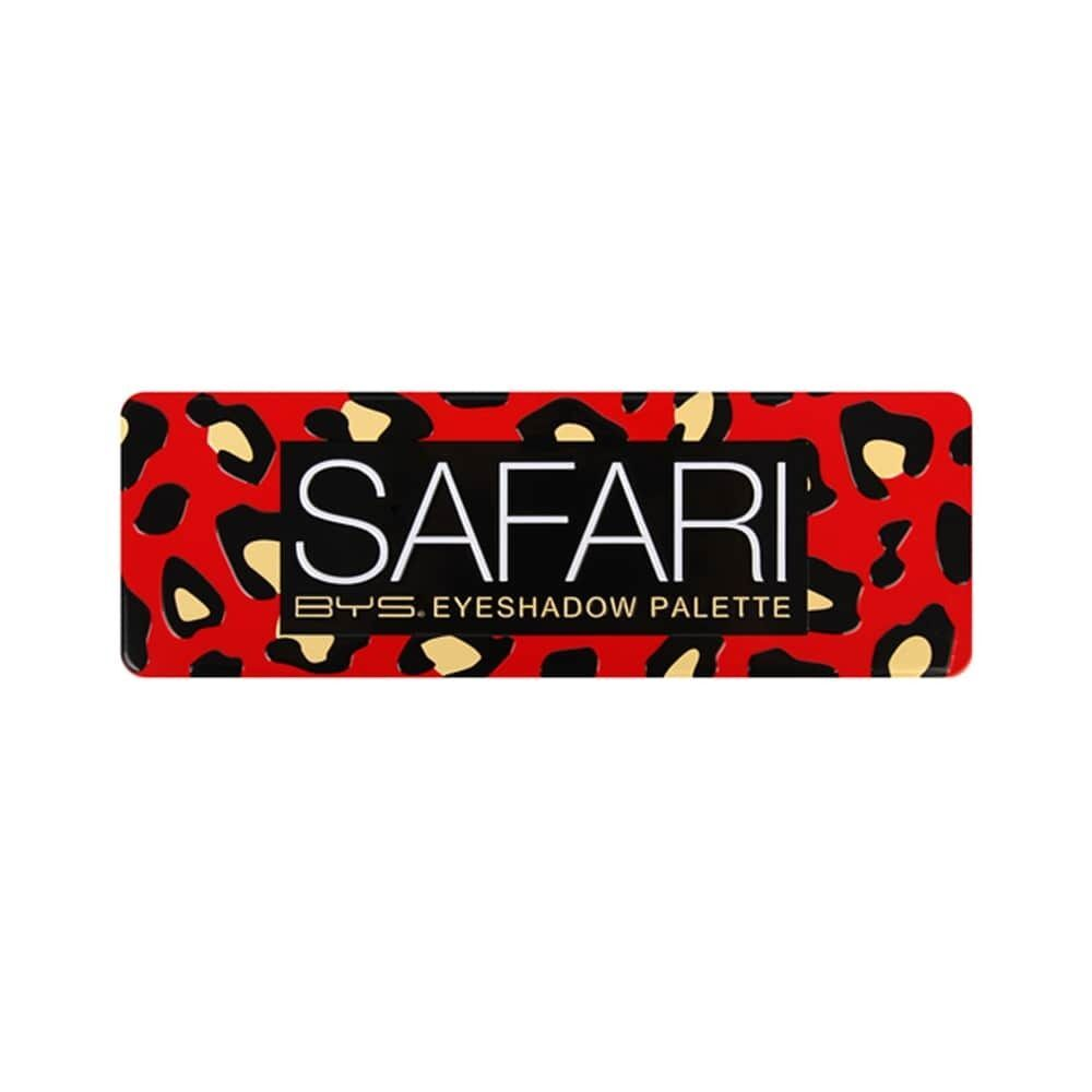 BYS Safari Eyeshadow Palette 12 Colours Metallic & Matte
