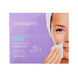Swisspers Cotton Cosmetic Squares 150pk