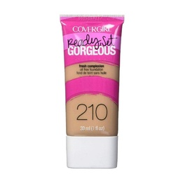 CoverGirl Ready Set Gorgeous Fresh Complexion Oil Free Foundation 210 Medium Beige 30ml