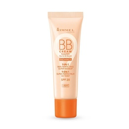 Rimmel BB Cream Radiance 9 in 1 Skin Perfecting Super Makeup Light SPF20 30ml