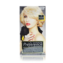 L'Oreal Superior Preference Permanent Hair Colour Premium Fade 9 Hollywood Light Blonde