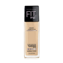 Maybelline Fit Me Foundation Dewy + Smooth SPF18 125 Nude Beige 30ml