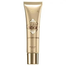 L'Oreal Glam Beige Healthy Glow Foundation Medium Light SPF15 30ml