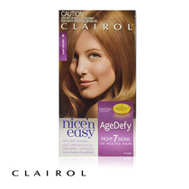 Clairol Nice N Easy Age Defy Permanent Hair Colour 6 Light Brown