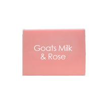 Natural Organic Soaps Goats Milk and Rose 100g