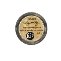 Uoga Uoga Natural Mineral Foundation Powder Tester 634 Linden Honey 0.7g