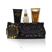 Grace Cole White Nectarine & Pear Indulgence (Body Wash 100ml,Body Cream 100ml,Body Mist 100ml,Clutch Bag)