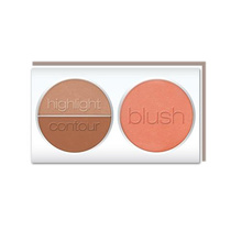 LA Colors 3D Blush Contour Honey Bun 8g