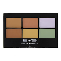 BYS Conceal & Correct Palette 01 Camouflage 6g