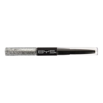BYS Glitter & Liner Duo 01 Silver
