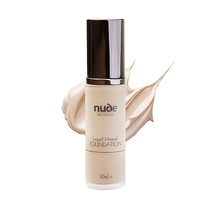 Nude by Nature Liquid Mineral Foundation Fair Skin Tones 30ml