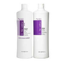 Fanola No Yellow Pack Shampoo 1000ml & Mask 1000ml