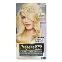 L'Oreal Preference Infinia Permanent Hair Colour 01 Superior Blonde