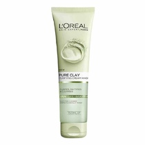 L'Oreal Pure Clay Purifying Cream Wash 150ml