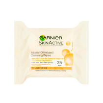 Garnier SkinActive Micellar Cleansing Wipes in Oil 25 wipes