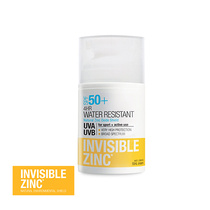 Invisible Zinc 4hr Water Resistant SPF 50+ 50ml