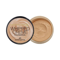 Max Factor Whipped Creme Foundation 45 Warm Almond 18ml