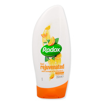 Radox Shower Cream Hydrating Feel Rejuvenated With Orange Oil & Vitamin E 250ml