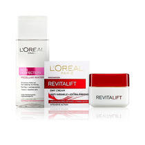L'Oreal Cleanse + Care Value Pack Revitalift Day Cream 50ml & Micellar Water 200ml