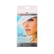 Revitale Facial Wax Strips 12pk
