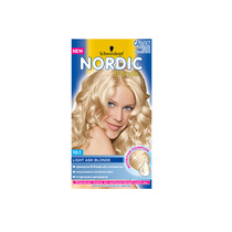 Schwarzkopf Nordic Blonde Permanent Hair Colour 10.1 Light Ash Blonde