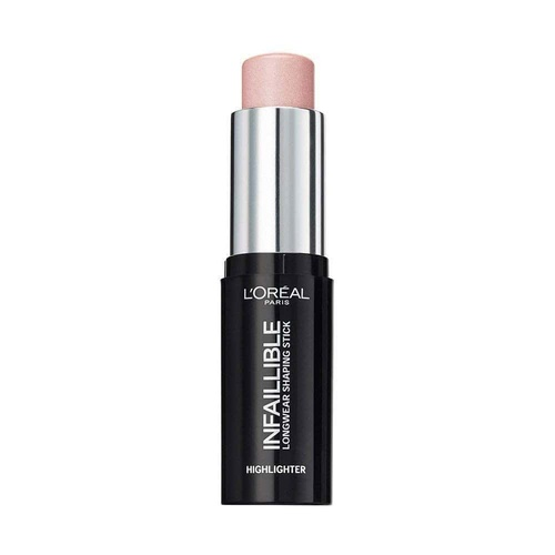 L'Oreal Infallible Highlighter Longwear Shaping Stick 503 Slay In Rose 9g