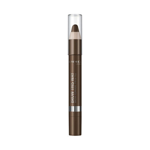 Rimmel Brow This Way Eyebrow Crayon Pomade 003 Dark