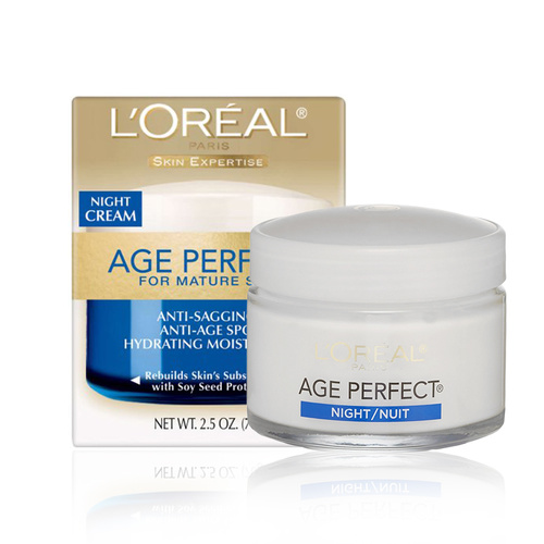 L'Oreal Age Perfect Anti-Sagging + Anti-Age Spot Hydrating Moisturizer Night Cream 70g