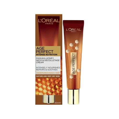 L'Oreal Age Perfect Intense Nutrition Manuka Honey Neck & Decolletage Cream 40ml