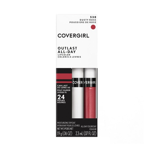 CoverGirl Outlast All Day Lipcolor 24hr 530 Dusty Rose
